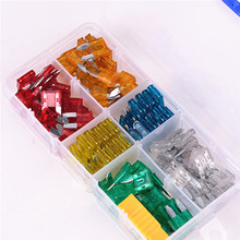120 pcs Mini Assorted Set Kit Blade Fuse for Car Motorcycle Boat/car