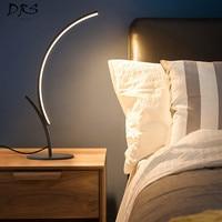 Modern Ins Desk Lamp Bedroom Bedside Lamp Warm Romantic Simple Girl Creativity Nordic Net Red LED Flexo Table Lamp Lampara Mesa