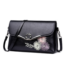 Crossbody Bags for Women Fashion Shoulder Crossbody Embroidered Leather Bag Casual Banquet Buckle lady Clutch цена