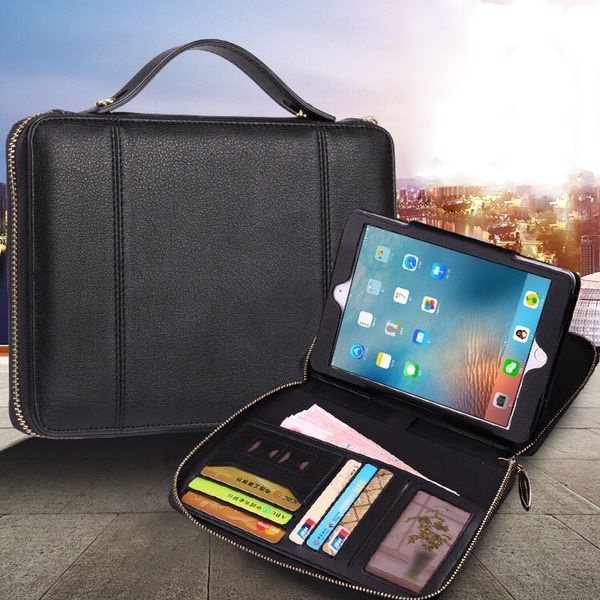 ФОТО For Apple iPad Air 1/2 Case with wallet card slots High quality PU Leather Bag for iPad Pro 9.7