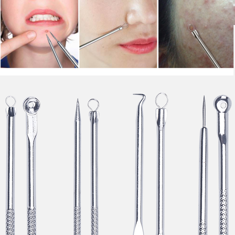 foreverlily Acne Blackhead Removal Needles Stainless Pimple Spot Comedone Extractor Cleanser Beauty Face Clean Care Toolsforeverlily Acne Blackhead Removal Needles Stainless Pimple Spot Comedone Extractor Cleanser Beauty Face Clean Care Tools