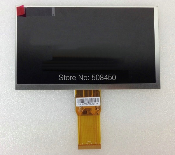 New LCD Display 7 TABLET YH070IF50H-A 50P TFT Screen Panel LCD Lens Viewing 163x97mm inner Screen Matrix Module Free Shipping original new 8 0inch gl080001t0 50 v1 lcd display for newman t9 monokaryon tablet pc tft lcd display screen panel free shipping