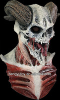 2013 hotsale Non toxic Latex Full Head Realistic Horror Demon Costume of Skull Mask With CE international approvals