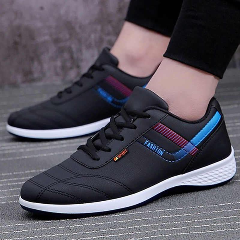 37336a9df2cb Casual shoes men shallow solid lace-up designer wedges sneakers increase  wear-resistant fashion
