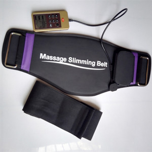 Image 5 - 6 mode Electrical Massage Slimming waist belt EMS therapeutic acupuncture Low frequency pulse massager slimming weight loss belt