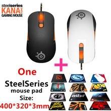 Бесплатная доставка оригинал SteelSeries kana V2 мышь оптическая мышь и мышей гонка ядро профессиональный оптический мышки