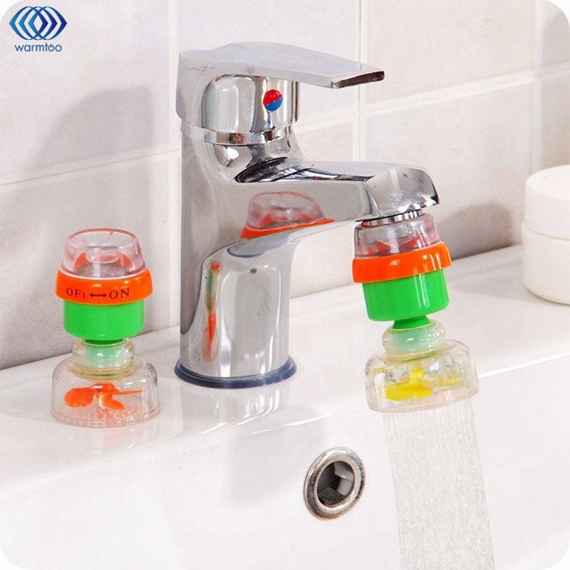 Kitchen Tap Water Filter Faucet Water Purifier Rotatable Plastic Shell Magnetic Activated Carbon Filter Screen Household