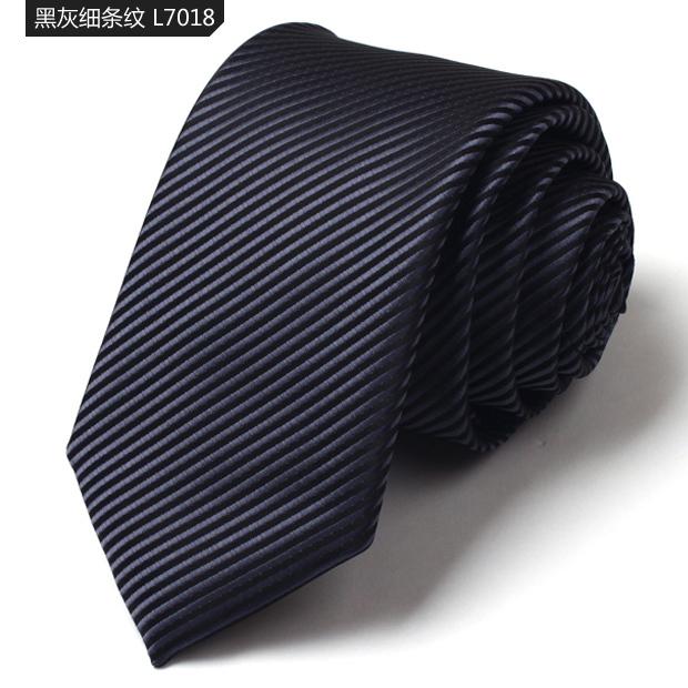 Famosos Designers Da Marca Laços Para Homens Moda Fibra Nano Empate Tarja Preta e Cinza 7 cm Laços dos homens Casuais gravatas