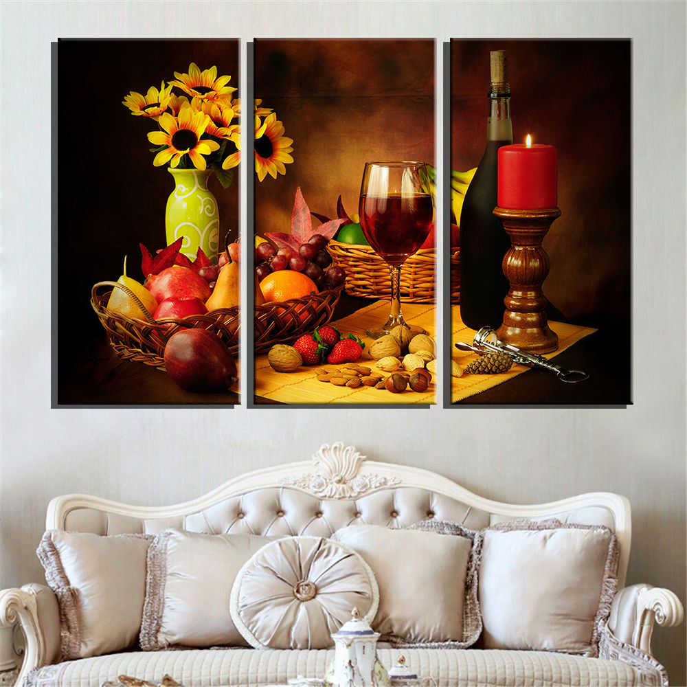 Popular wine fruit buy cheap wine fruit lots from china for Decoration murale vin