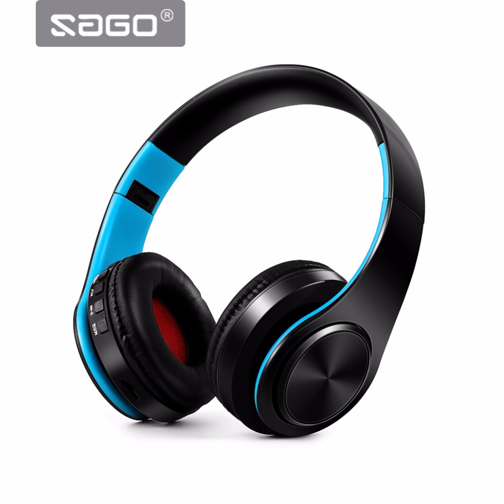 Soga Wireless Bluetooth Headphone Foldable Stereo Headset with Mic Support FM radio TF Aux Handsfree Equalizer for Smartphone t8 wireless bluetooth headphone foldable sport stereo earphone hifi headset handsfree with microphone support tf card music play