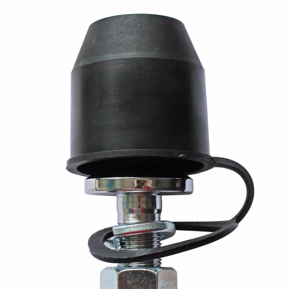 2019 New Black Tow Bar Ball Cover Cap Car Towing Hitch Towball Trailer Protection Cap YAN88