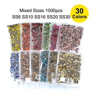 1000pcs Hotfix Rhinestones Iron On Hot Fix Crystal Shoes ce504cdffe39