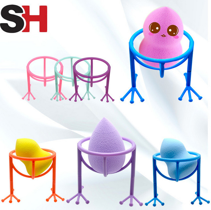 Beauty & Health Lovely 1pc New 4 Color Makeup Sponge Gourd Powder Puff Rack Powder Puff Bracket Box Dryer Organizer Beauty Shelf Holder Tool