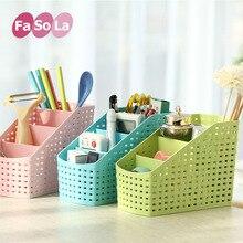 1 pcs 16*13*9CM High-quality Multi-function Plastic Storage Box Creative Office Desk Fashionable Collection Organizer Hot Sale