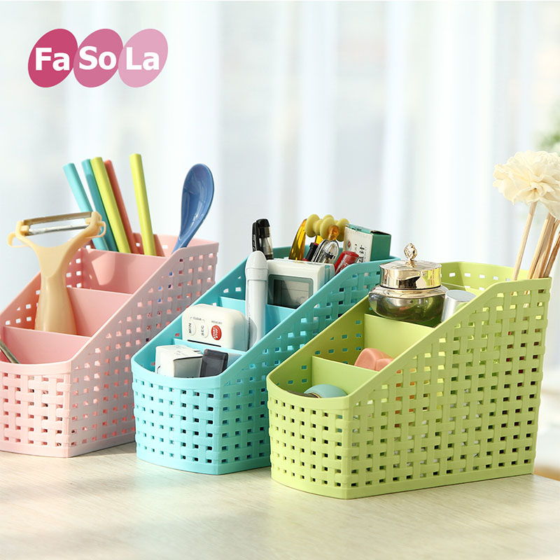 1 pcs 16*13*9CM High-quality Multi-function Plastic Storage Box Creative Office Desk Fashionable Collection Organizer Hot Sale