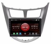 2GB RAM octa core Android 7.1.2 car GPS for HYUNDAI VERNA 2012 touch screen car radio stereo navigation 3G mirror link DVR