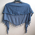 New Fashion Women Triangle Scarf  Lace Macrame Triangle Female Premium Knitted Scarves