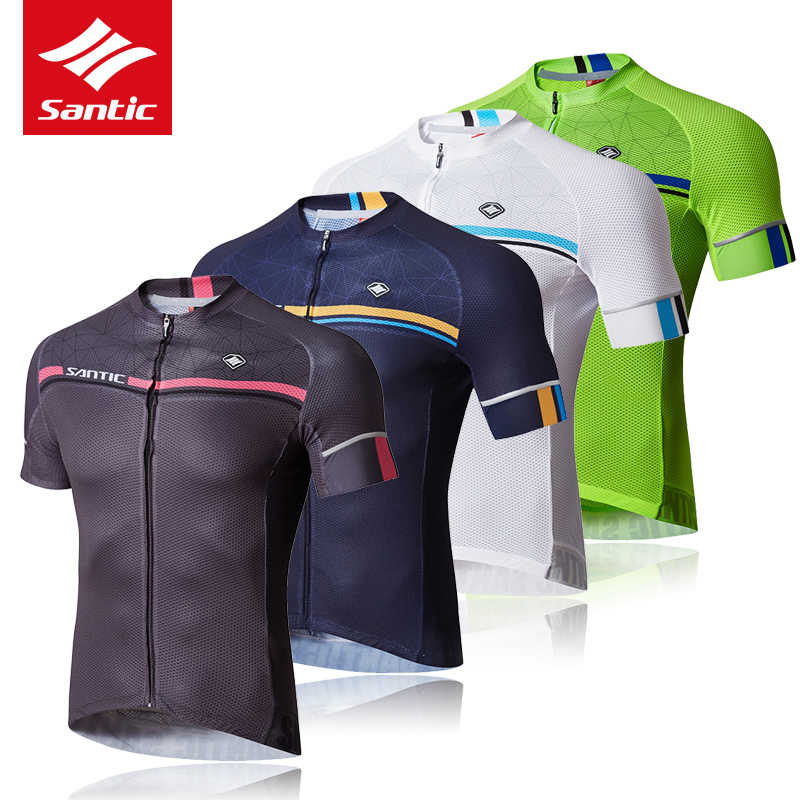 New SANTIC Summer New Men s Cycling Jerseys MTB Bicycle Biking Short Jersey  Road Bike Riding Short a98b8937a