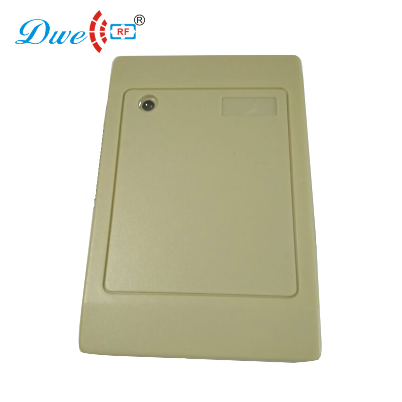 DWE CC RF Access Control Card Reader Wiegand Dual Proximity Card Reader RS485 Smart Card Readers
