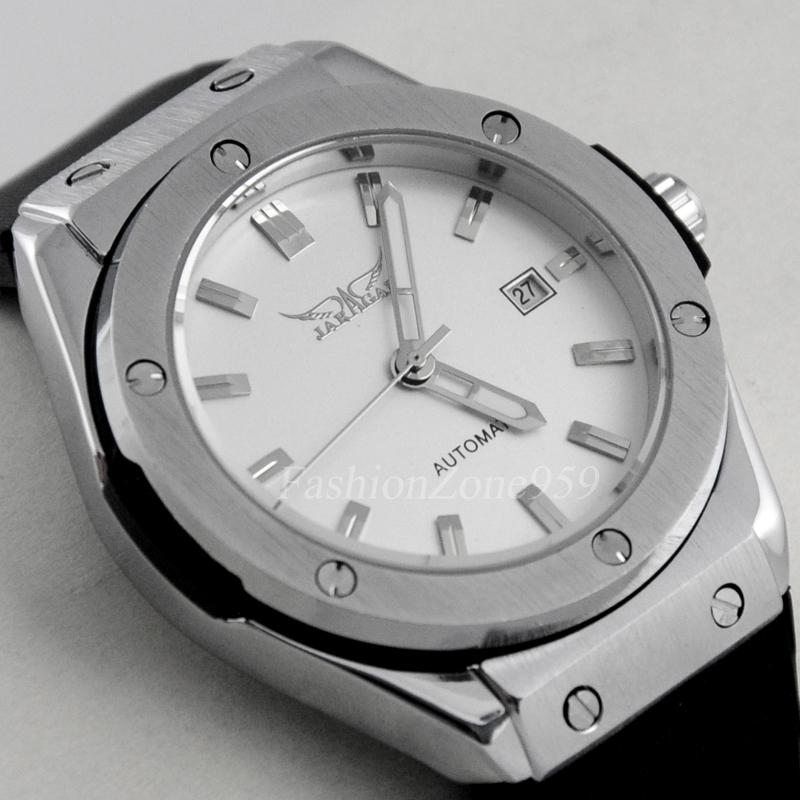 Prix pour Marque de luxe Montre Mécanique Automatique Hommes Montre-Bracelet Bande de Silicone Militaire de L'armée Montres Sport Relogio Masculino Reloj Hombre