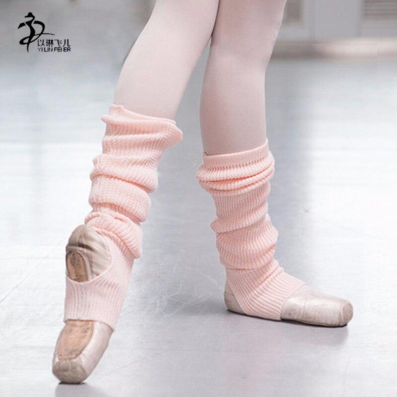وصول جديد الباليه الرقص الجوارب 2pairs الحرة الشحن / ملابس الفتيات الباليه / جوارب الباليه الدافئة