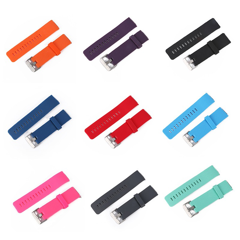 Candy Color Soft Silicon Rubber Band for Fitbit Blaze with Metal Buckle Wrist Strap Fashion Unisex Watch Band стоимость