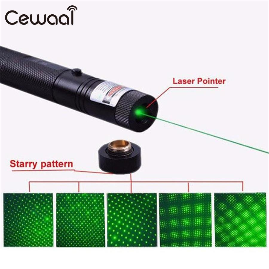 Cewaal 4 color For Tactical Powerful Green Laser Pens Sight Rifle Pointer Sighter Aluminum+ABS Hunting 2000-5000M promotion