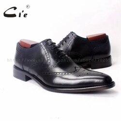 Cie Spitzen Volle Brogues Flügelspitzen Oxfords 100% Genuine Kalb Handgefertigten Leder Männer Schuh Männer Bespoke Schuh Atmungs OX346