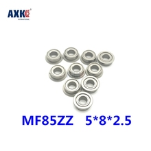 2019 Sale Rodamientos Free Shipping 10pcs Mf85zz F675zz Lf850zz Deep Groove Ball Bearing 5*8*2.5 Mm Miniature With Flange Abec3