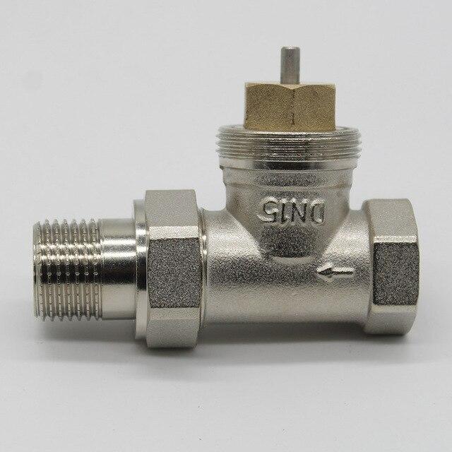 DN15 DN20 DN25  DN30  water valve electric actuator HVAC thermal actuator valve ,radiator valve without actuator