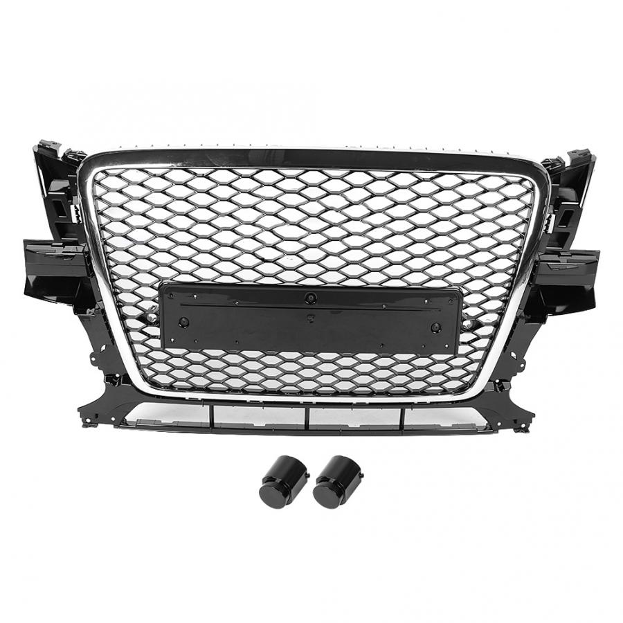 RSQ5 Style Car Front Bumper Grille <font><b>Grill</b></font> for <font><b>Audi</b></font> <font><b>Q5</b></font>/<font><b>SQ5</b></font> 8R 2009 2010 2011 2012 Car Accessories image
