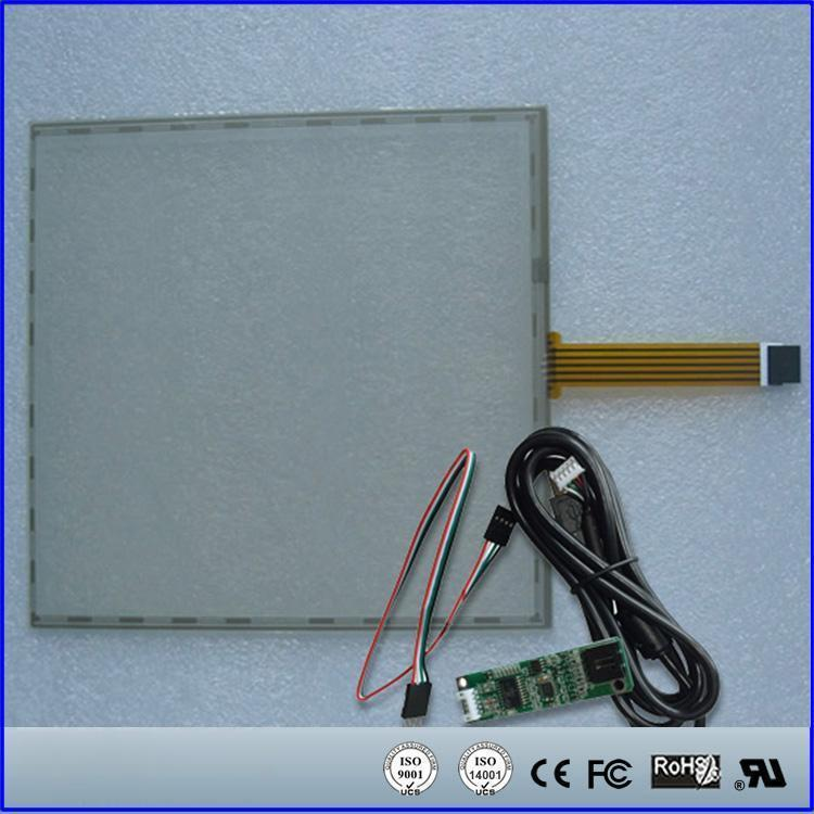 ФОТО 17inch 355x288mm 5Wire Resistive Touch Screen Panel USB kit for 17