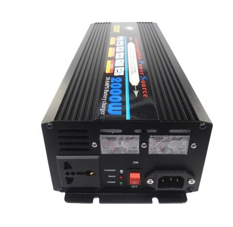 DC to AC UPS 2000W (4000W Peak) DC12V to AC220V Modified Wave Power Inverter With UPS Battery Charging function
