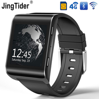 4 г Android Smart часы JT2018 gps Bluetooth Smartwatch 900 мАч MTK6737 4 ядра 1 ГБ/16 ГБ 1,54 HD ips наручные Wi Fi sim карты