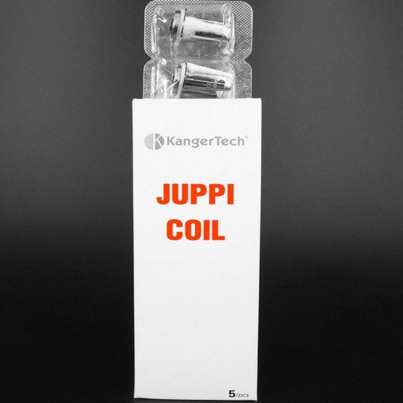 bilder für 5 stücke kanger juppi spule 0.2ohm original e zigarette für kanger juppi tank nicr rewickable notchcoil struktur merkmale riesige dampf
