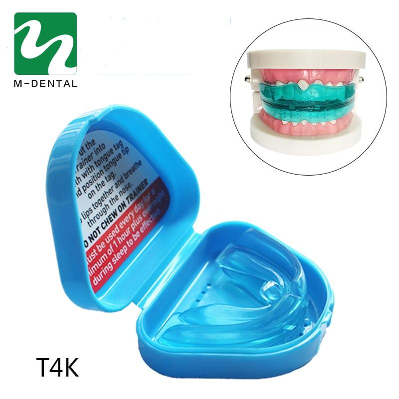 1 Ədəd Sadə Pratical Diş Ortodontik Diş Təlimçi Tətbiqi T4K Uşaqlar / Uşaqlar üçün Ortodontik Diş Təlimçi