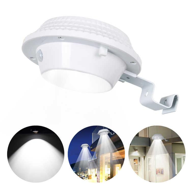 T-SUN с солнечной батареей PIR датчик движения 12 Светодиодный светильник безопасности Водонепроницаемая лампа для наружного сада