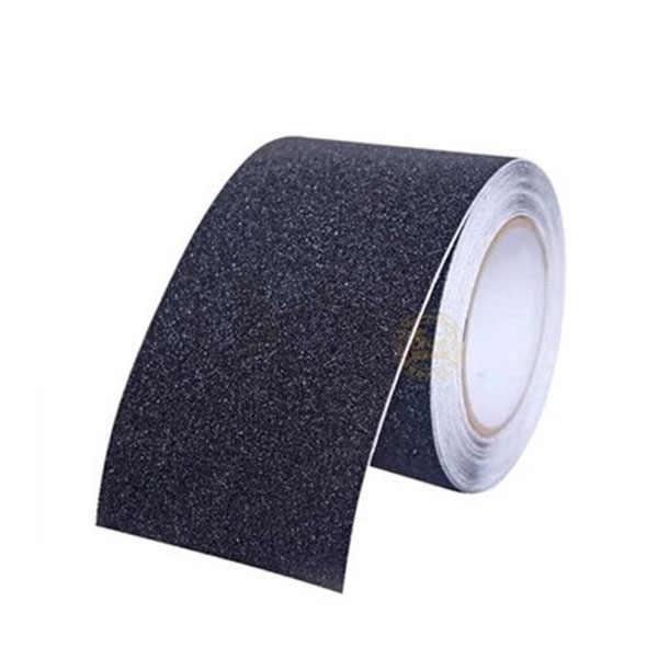 5 м * 15 см Противоскользящая Лента наклейки для лестницы настил полоски для душа Коврик для пола безопасности ленты мат (черный)