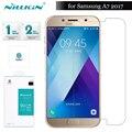 NILKIN Для Samsung Galaxy A7 2017 Закаленное Стекло Nillkin Удивительный H Протектор Экрана для Samsung Galaxy A7 2017 A720 (5.7 дюймов)