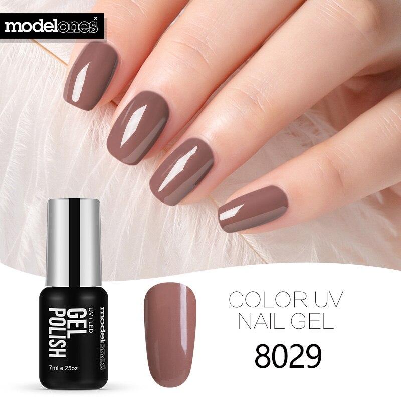 Modelones Blue Color Nail Gel Polish Long Lasting Soak Off UV Gel ...