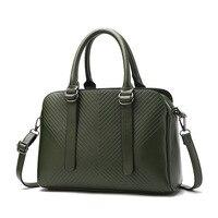 2017 Fashion Classic Women Handbag Simple Style Sweet Lady Shoulder Bags Messenger Bag Solid Women Bag