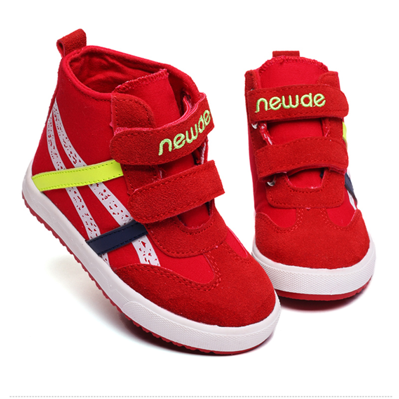 High dunk Canvas Sneakers for Baby girl Rubber sole