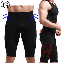 b2a678a4b7 PRAYGER Slimming Thigh Men Body Shaper Compression Waist Cincher Control  Panties Slimming Belly Underwear Butt Lift