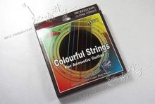 Alice A407C Colourful Coated Copper Alloy Wound Acoustic font b Guitar b font Strings 11 52
