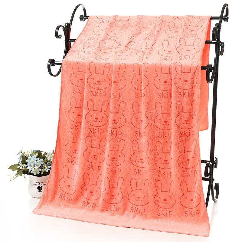 Sale 1pc 2018 Cute Microfiber Absorbent Drying Bath Towel Thick Printed Umbrella Bath Towel Bathroom Supplies Bath
