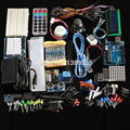 Kit final Hc-sr04 Ultrasonic Sensor/Step Motor/Servo/1602 LCD/UNO R3 starter Kit Com Retail caixa