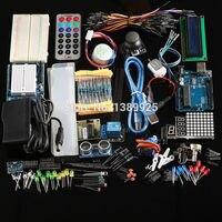 Ultimate Kit Hc Sr04 Ultrasonic Sensor Step Motor Servo 1602 LCD UNO R3 Starter Kit With