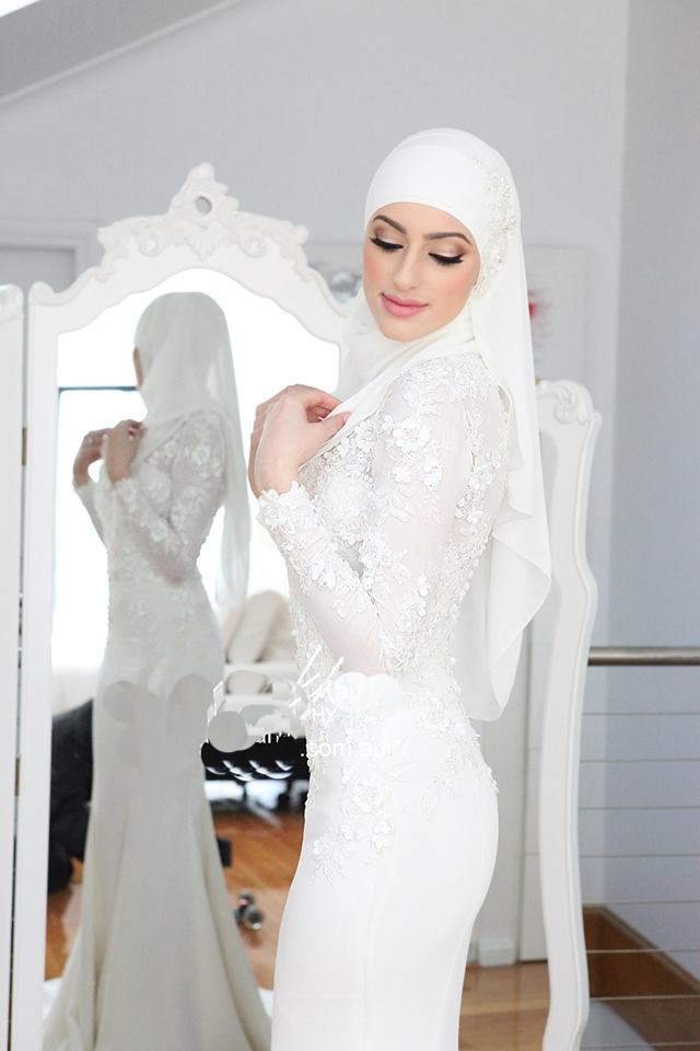 Gut bekannt Robes blanches hijab – Robes de mode site photo blog MH34