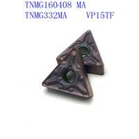 us735 כלי קרביד כלי כלי 20PCS קרביד TNMG160408 / TNMG332 MA VP15TF / UE6020 / US735 CNC מחרטה כלי 60 (1)