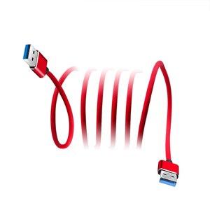 Image 4 - Kebidu 3 色スーパースピードオス Usb に USB 2.0 ケーブル USB ケーブル延長データ同期ケーブルコンピュータ PC 1 メートル